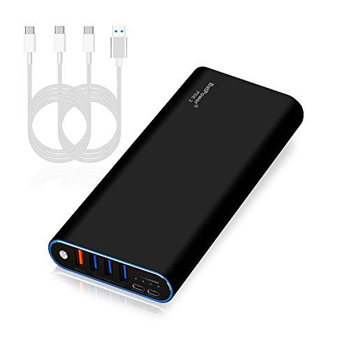 BatPower PDE 2 P40B USB-C Power Bank Cargador portátil Batería Externa para Apple Microsoft HP Lenovo DELL Razer ASUS LG Acer MSI Samsung PD USB C teléfono Inteligente Tableta portátil -148Wh