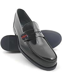 Zerimar Zapatos Castellanos Hombre | Mocasin Antifaz Hombre | Mocasines Hombre| Zapatos Hombre Vestir