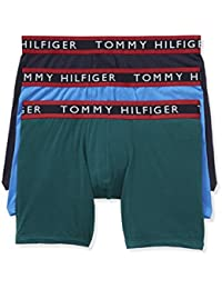 Tommy Hilfiger Men's Underwear 3 Pack Cotton Stretch Boxer Briefs