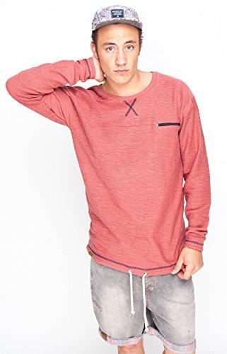Sweater WEERK MarsalaRed Rot