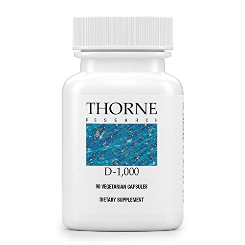 E Vitamin Thorne (Thorne Research, D-1000, 90 Veggie Caps)