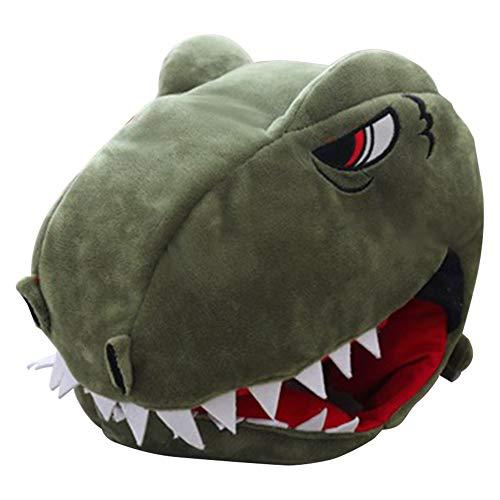 Filfeel Kinder lustige Dinosaurier Kopf Hut für Party Geschenk Neuheit Plüsch Spielzeug verkleiden Sich Cosplay