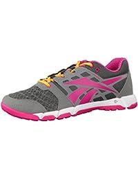 Reebok - Zapatillas para deportes de interior de material sintético para mujer