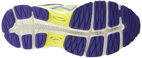 Asics Gel-cumulus 17 - Chaussures De Course Pour Femme, Jaune (flash Jaune / Acai / Jasmin Vert 0733), 42 Eu Jaune (flash Jaune / Acai / Jasmin Vert 0733)