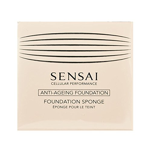 Total Finish Foundation (Sensai Cellular Performance femme/woman, Total Finish Foundation Sponge (1 Stck), 1er Pack (1 x 1 Stck))