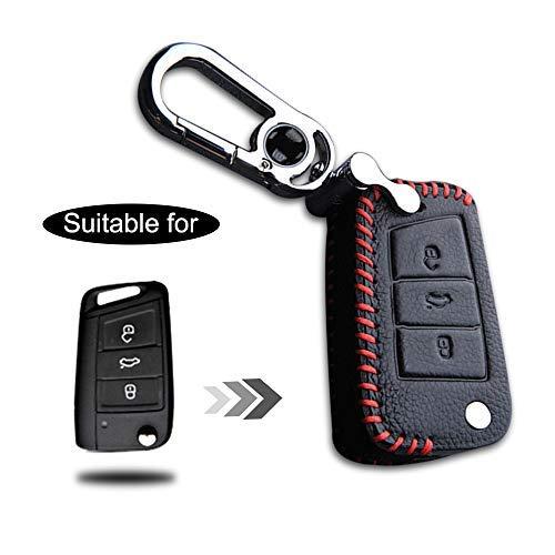 Clé Housse VB keytag noir//bleu en silicone protection clés de voiture Cover