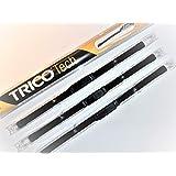 Juego de 3 escobillas limpiaparabrisas Trico delanteras y traseras de 55,88 x 40,