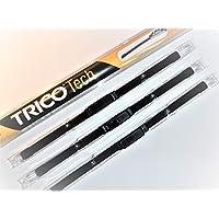 Front /& Rear kit of genuine HQ Automotive Aero Flat Wiper Blades AD02-221|HQ11C