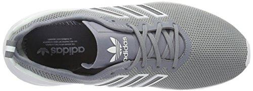 adidas Unisex-Erwachsene Zx Flux Advanced Low-Top Grau (Grey/Grey/Ftwr White)