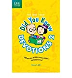 [( The One Year Did You Know Devotions 2 (One Year) By Hill, Nancy S ( Author ) Paperback Aug - 2009)] Paperback