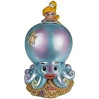 Preisvergleich für Spardose ''Meerjungfrau auf Krake'' gelb | Fabelwesen | Geschenk für Mädchen | Meerjungfrauen Figur | Deko - Figur | Sparbüchse | Wohnaccessoire | Geschenkidee für Freunde | Mädchen Geschenk | Preis am Stiel®
