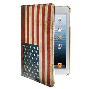 Housse de qualité pour ipad mini design drapeau UK Rétro
