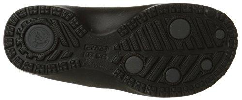 Crocs modi Flip, Damen Sandale / Zehentrenner Black/Graphite