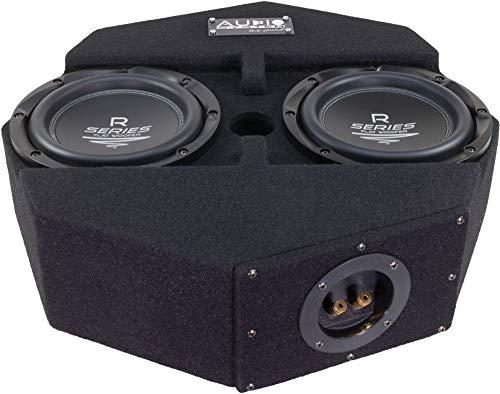 Audio System R08 Flat-2 Subframe - 20cm Reserverad Subwoofer - geschlossenes Gehäuse - 300 Watt RMS - 2 Ohm 2 Ohm Subwoofer