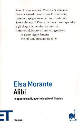 Alibi (Einaudi tascabili. Poesia) por Elsa Morante