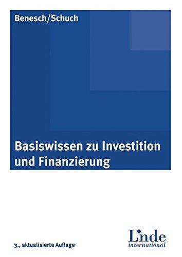 Basiswissen zu Investition und Finanzierung