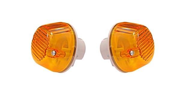 2/x Bernstein//Orange Blinker Lampen E4/Mark f/ür MAN TGA//TGX//TGL 81253206115