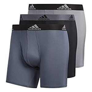 41J4yx LvjL. SS300  - adidas Men's Sport Performance Climalite Boxer Brief (3-Pack) - Ropa Interior Hombre