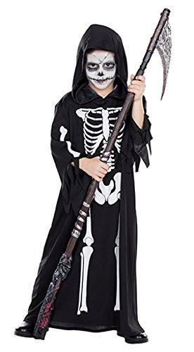 Robe schwarz für Kinder ()