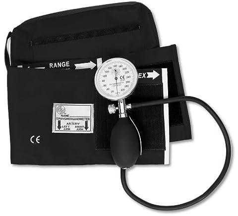 NCD Medical Black One Handed Professional BP Set