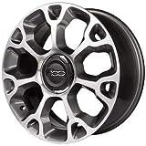F105 AD 1 Felge aus Alufelge 7J 17 5 x 98 ET41 58,1 Original, Fiat für 500L komplettes CoPRIMOZZO CAP 500