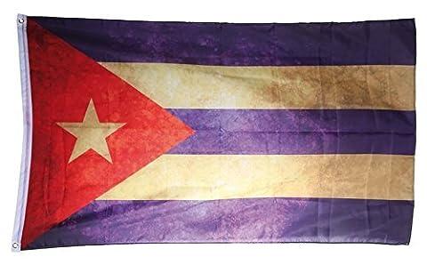 Cuba vintage Flag