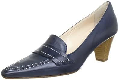 Evita Shoes Pumps geschlossen 41F6423110, Damen Pumps, Blau (blau), EU 38