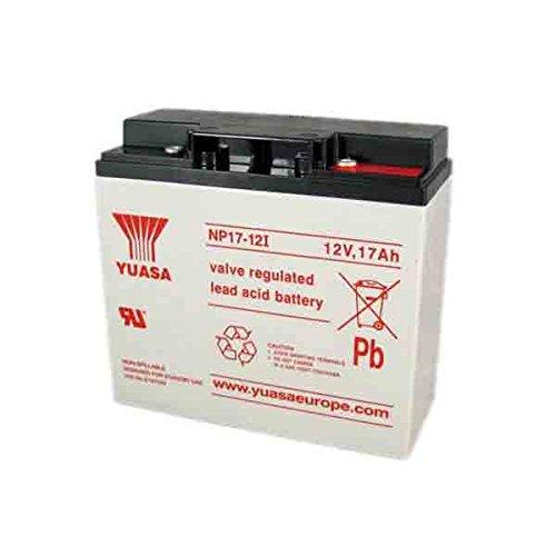 Yuasa NP17-12 - Valve regulated lead acid (12 warranty) Valve-regulated Lead