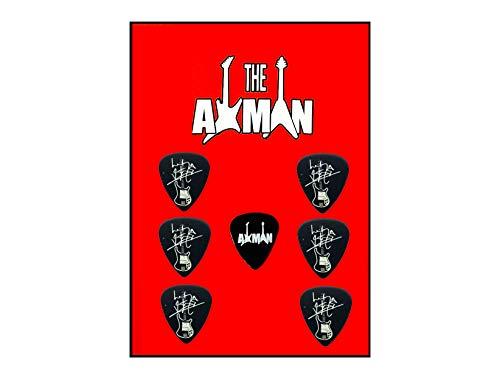 Axman 4001 Lemmy (Motörhead) Rickenbacker - Plektrum Set (Motorhead Miniatures)