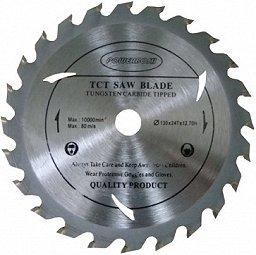 130mm x 12,7mm x 24Zähne Top Qualität Kreissägeblatt (Skill Säge) für Holz Trennscheiben für für Bosch Makita Dewalt etc.