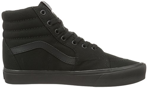 Vans Ua Sk8-Hi Lite, Sneakers Hautes Mixte Adulte, (Canvas) Black/Black Noir (Canvas Black/black)