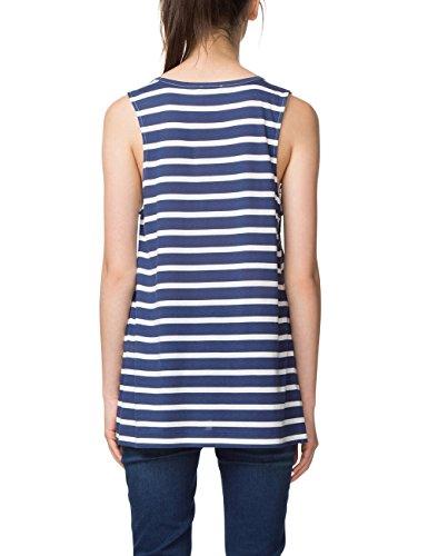 Desigual Damen T-Shirt TS_Clementine Blau (Navy 5000)