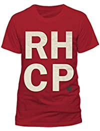 006d1df9e RED HOT CHILI PEPPERS - RHCP STACK - OFFICIAL MENS T SHIRT (L)