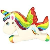 Sunei.f 1 Pcs Cute Squishy Doll Unicornio en Forma de Espuma Suave Extrusión Fragante Kawaii Juguetes Descompresión (O)