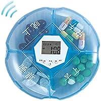 Tragbare Medizin-Kasten-Medizin mit Timer-Erinnerungs-Medizin-Fall, A2 preisvergleich bei billige-tabletten.eu