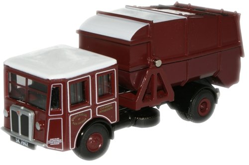 oxford-diecast-76sd001-shelvoke-drewry-dustcart
