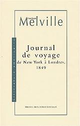 Journal de voyage de New York à Londres, 1849