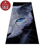 Heathyoga Hot Yoga Towel Non Slip, Exclusive Corner Pockets Design, 100% Microfiber Yoga