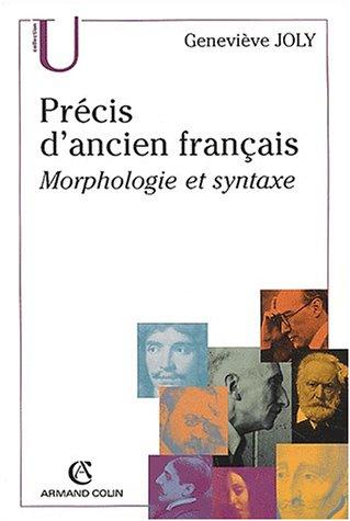 Precis d'ancien francais