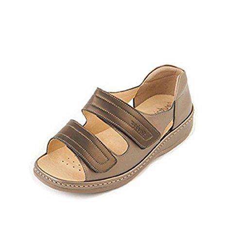 Sandpiper , Sandales pour femme Bronze/Pewter