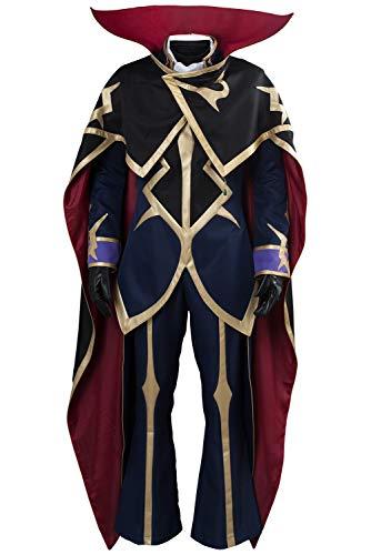 Karnestore Code Geass: Lelouch of The Resurrection Season 3 Zero Kleid Suit Uniform Herren XXXL