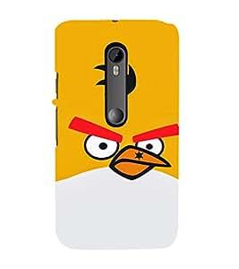 EPICCASE Mad Birds Mobile Back Case Cover For Moto G Turbo (Designer Case)