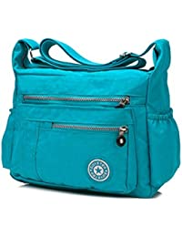 Waterproof Nylon Crossbody Bags For Women Casual Lightweight Cross Body Handbags Shoulder Bags By Besthome Fashion
