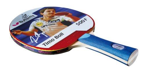 Butterfly - Racchetta da ping-pong Timo Boll 500, colore: Blu
