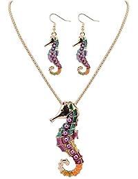 8c2319ef5c75 Amazon.es  collar mundo - Juegos de joyas   Mujer  Joyería