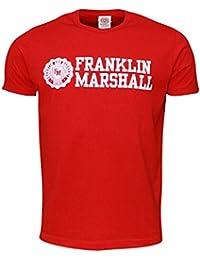 Franklin & Marshall Tshirt Jersey Round Neck Short-Camiseta Hombre