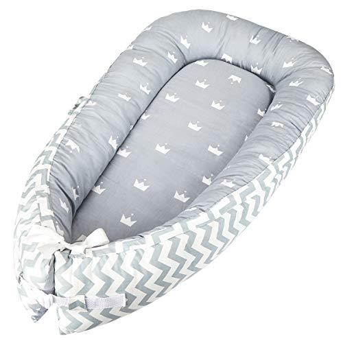 Luchild Baby Nest Riduttore Per Letto Culla Sacco Nanna per Neonati Multifunzionale lettino da viaggio