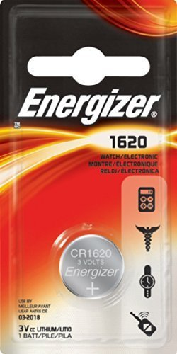 Galleria fotografica Energizer Lithium Button Cell, CR1620 / DL1620 / 5009LC / E-CR1620 / 280-208, 3V - 1 piece by Energizer
