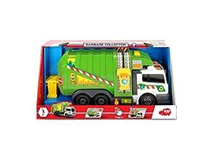 Dickie Toys 203308382Garbage Collector batteriebetriebenes Basura Función de Auto con luz y Sonido, 39cm