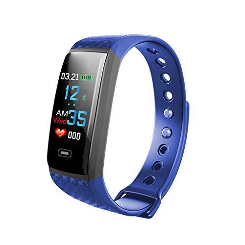 LRWEY Fitness Armband mit Pulsmesser, Smart Watch Sport Fitness Aktivität Herzfrequenz Tracker Blutdruckkalorien mit iOS Android Handy